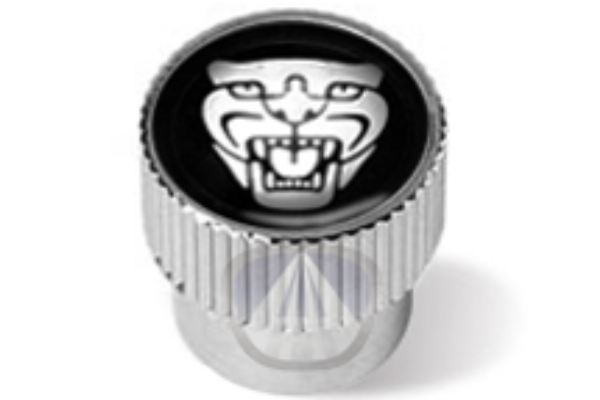 Jaguar Valve Stem Caps - Growler Logo